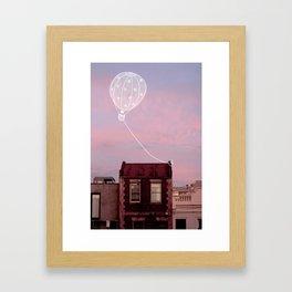 Don't Fly Away Framed Art Print