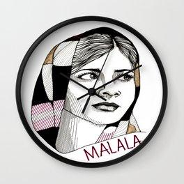 Malala  Wall Clock