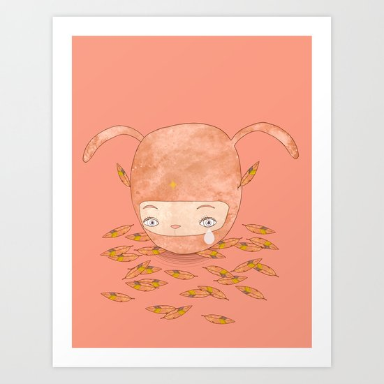 I DON'T MIND IF YOU FORGET ME FOREVER  Art Print