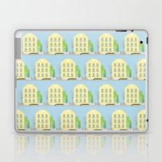 Yellow houses Laptop & iPad Skin