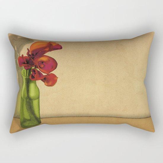 Calla lilies in bloom Rectangular Pillow