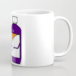Codeine Bottle Walking the Dog Coffee Mug