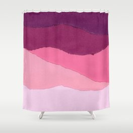 Colores I Shower Curtain