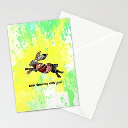 Happy Easter Rabbit - Keep Runing with You Stationery Cards