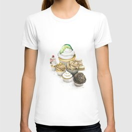 Sweet Energy Cupcakes T-shirt