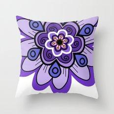 Flower 04 Throw Pillow