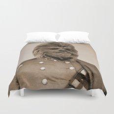 Portrait of Sir Chewie Duvet Cover