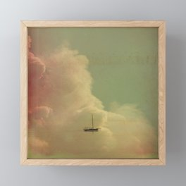 Once Upon a Time a Little Boat Framed Mini Art Print