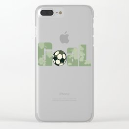 Soccer Football Championship Goal Nation Penalty Russia 7 Clear iPhone Case