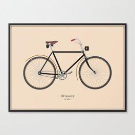 Vintage Dürkopp Bike Canvas Print