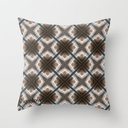 Glow out the dark Throw Pillow