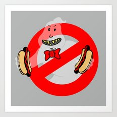 No Ghosts Art Print
