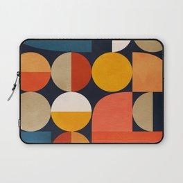 mid century geometric abstract Laptop Sleeve