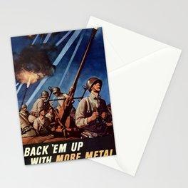 Back em up Stationery Cards