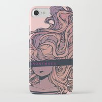 anonymous iPhone & iPod Cases featuring Anonymous by Ludovic Jacqz