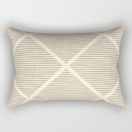 Chisel In Tan Rectangular Pillow