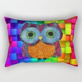 Owl Fabric Rectangular Pillow