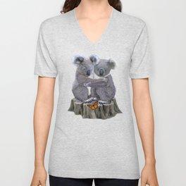 Baby Koala Huggies Unisex V-Neck