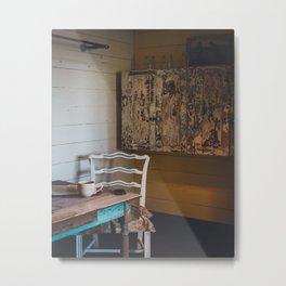 Rustic Living Metal Print