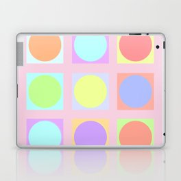 Pastel Dots Laptop & iPad Skin