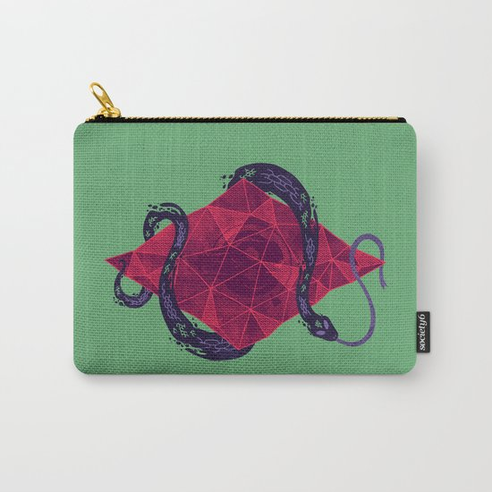 Mystic Crystal Carry-All Pouch