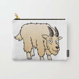 Mountain Goat Mascot Carry-All Pouch