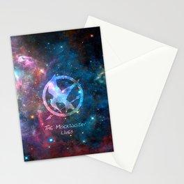 mockingjay galaxy Stationery Cards