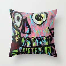 King Skull 2 Throw Pillow