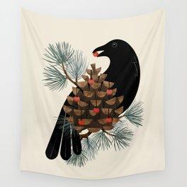 Bird & Berries Wall Tapestry
