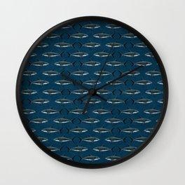 Pattern: Great White Shark ~ (Copyright 2015) Wall Clock