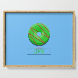 1DONUT - Lime Serving Tray