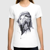 business T-shirts featuring Wild Rage by Philipp Zurmöhle