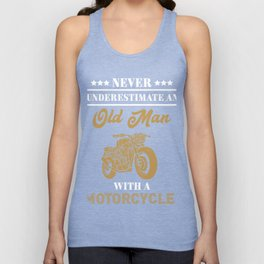 Cool Gift For Motorcycle Lover. Unisex Tank Top