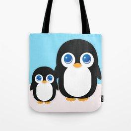 Adorable Penguins Tote Bag