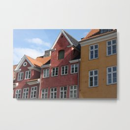 Copenhagen Sun Metal Print