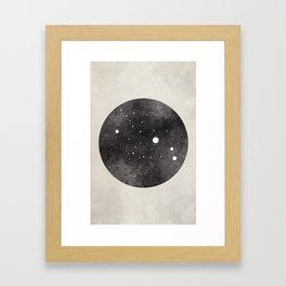 Aries Constellation Framed Art Print