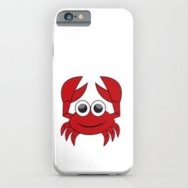 Crab, Animal, Ocean, Artwork, Decor, DAM Creative iPhone Case
