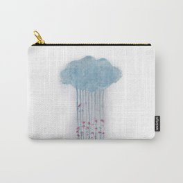 Rain in the woods Carry-All Pouch