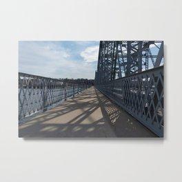 steel shadows Metal Print