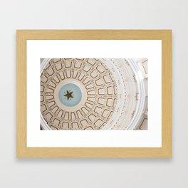 The Lone Star Framed Art Print