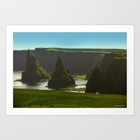 Sea Stacks at Duncansby Head Art Print