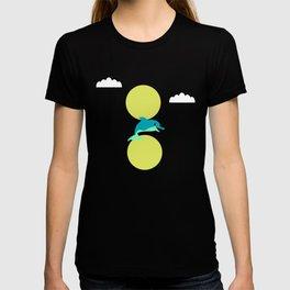 Dolphin - minimal T-shirt