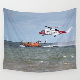 Rhyl Air Sea Rescue Wall Tapestry
