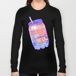 Peach Bubbles Long Sleeve T-shirt