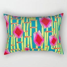 Tiki Torture Rectangular Pillow