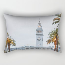 Port of San Francisco Rectangular Pillow