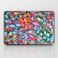 blanket iPad Cases featuring Autumn Blanket by Angela Pesic