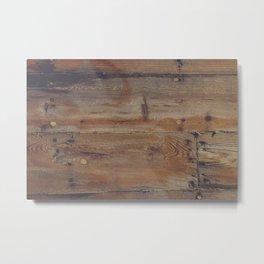 Shipboard Planks Metal Print
