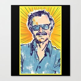 stanlee Canvas Print