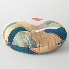 Spring Dusk Floor Pillow